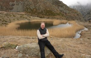David Morrison at the Lake